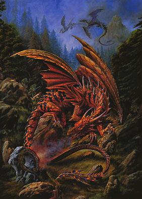 Les dragons sont aussi dans Tibia